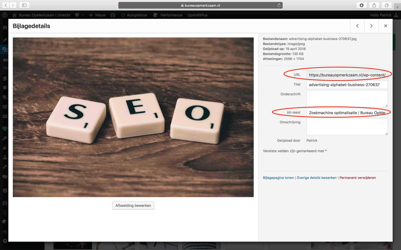 alt-tekst-hoger-in-google | Bureau OpMerkzaam Utrecht