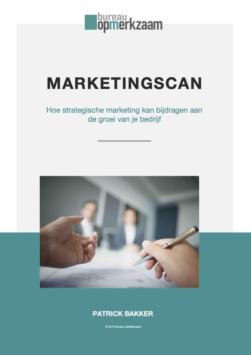 Bureau OpMerkzaam | Marketingscan